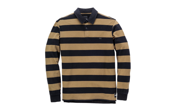 SUPRA Fifty Stripe L/S Polo (102089-030)