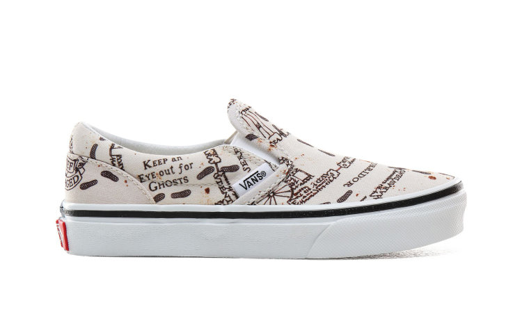 VANS Kids Classic Slip-on (harry Potter) (VN0A4BUTV3C)