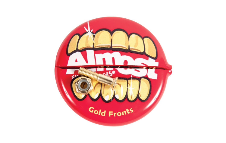ALMOST Gold Nuts & Bolts In Yr Mth (11023002)