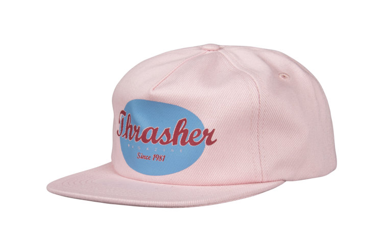 THRASHER Oval Snap (565746-PNK)