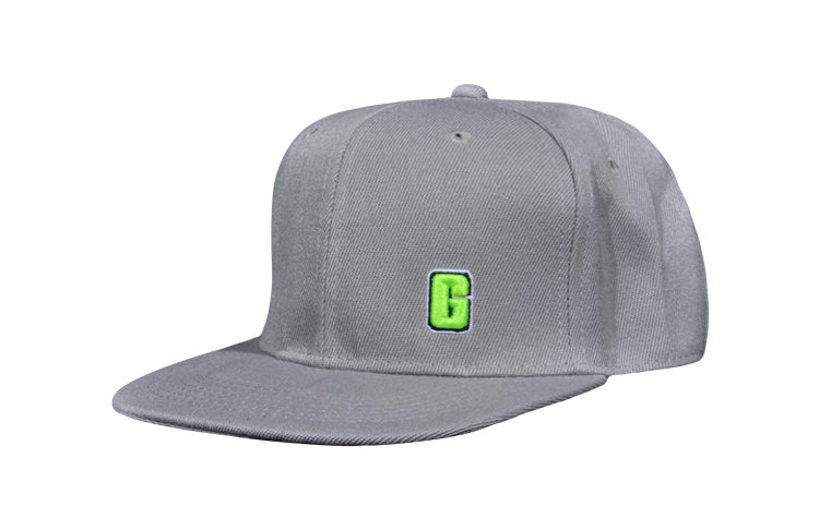 GARAGE G Snapback (GS-GSNAP-GRY)