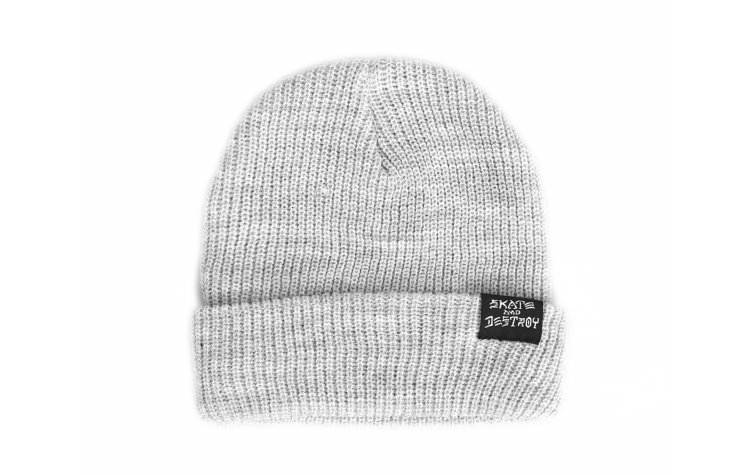 THRASHER Skate And Destroy Beanie (571315-GRY)