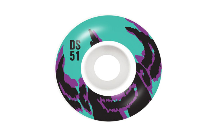 DARKSTAR Dissent Wheels 51mm (10112341-AQU)