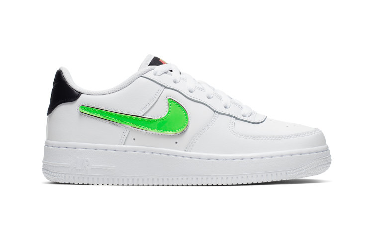 NIKE Kids Air Force 1 Lv8 3 (AR7446-100)