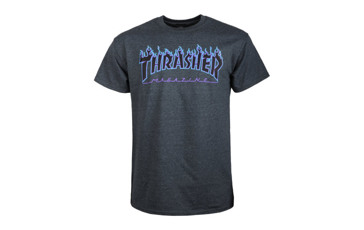 THRASHER Flame S/S (36093-DHP)