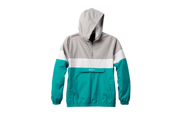 ENJOI Handout Windbreaker (20317143-GRY)