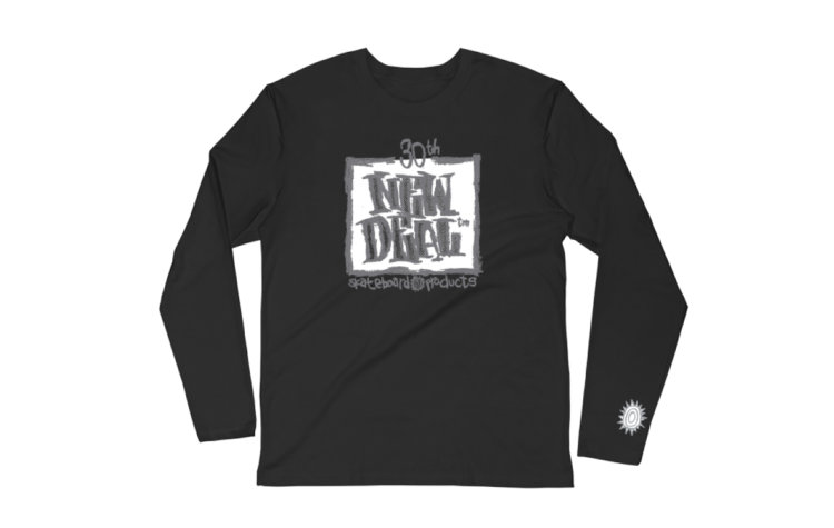 NEW DEAL Wtf 30th Anniversary Napkin Logo L/S (ND010301200A)