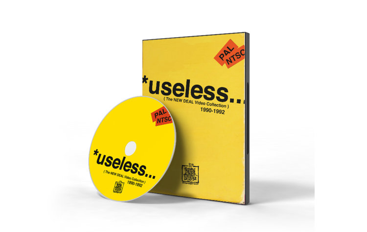 NEW DEAL Wtf *useless 1990-1992 Dvd (ND010501999A)