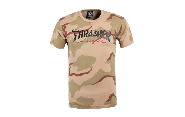 THRASHER Calligraphy S/S (320808-DCA)