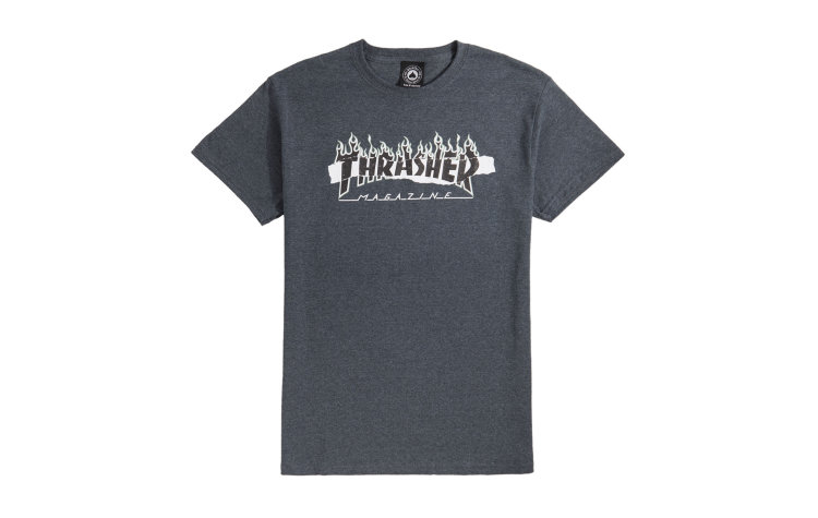 THRASHER Ripped S/S (399724-DKH)
