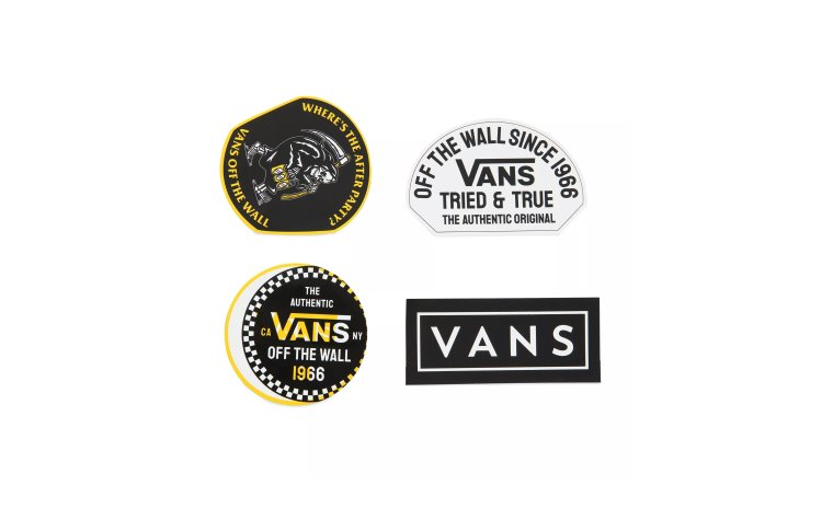 VANS Authentic OG Sticker Pack (VN0A4MPU85W)