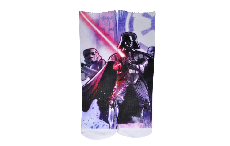 STAR WARS Youth Print Crew Stormtrooper Sox (Y0029A)